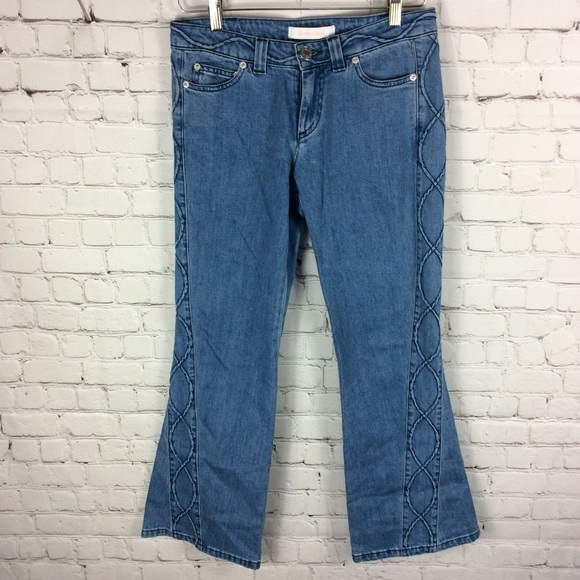 See By Chloe Denim - SEE BY CHLOE Flare. Jeans Celtic Design Size 26